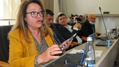 Даниела Божинова е една от вносителките на докладната записка. Снимка Черноморие-бг