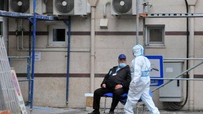 Триажната зона е разположена в УМБАЛ и там се оказва първа помощ на пациенти със съмнение за корона вирусна инфекция. Снимка Архив Черноморие-бг