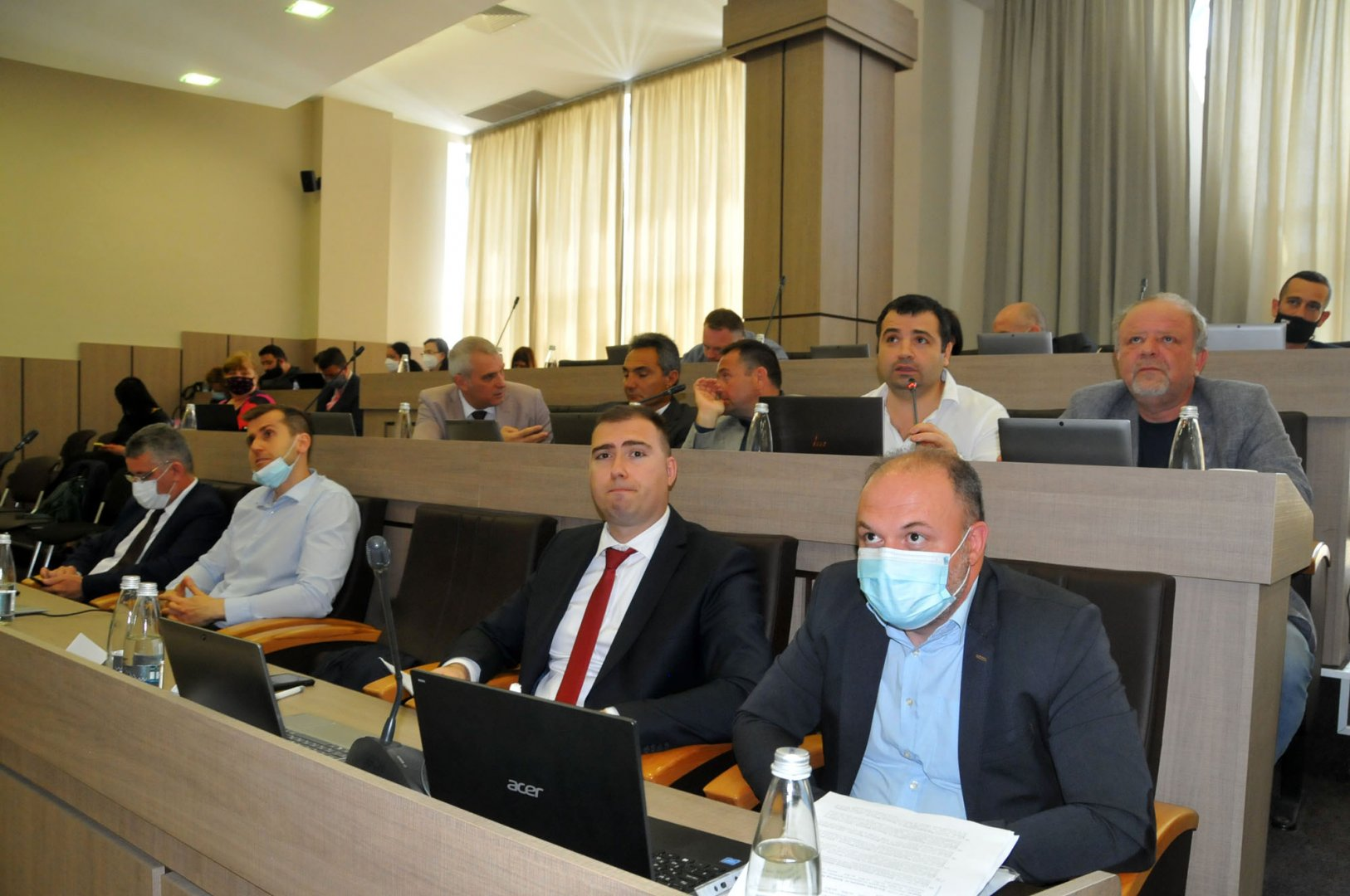 С 44 глава и 2 въздържал се съветниците приеха правилника за дейността на фонд Култура. Снимка Черноморие-бг