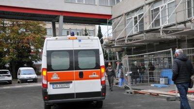 Мъжът е паднал върху скелето на четвъртия етаж, после е издъхнал. Снимка Архив Черноморие-бг