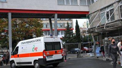 Сградата на болницата ще светне в зелено на 9-ти октомври в 20.00 часа. Снимка Архив Черноморие-бг