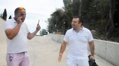 Съветникът от СЕК Константин Бачийски (вдясно) се включи в Dogan Saray Beach Festival. Снимки Черноморие-бг