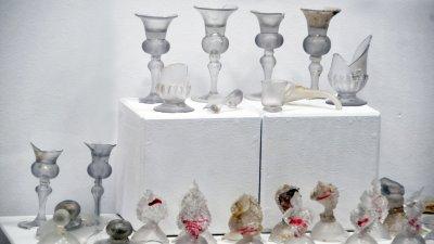 Фрагментите могат да се видят в Археологическата експозиция на Регионален исторически музей Бургас. Снимки Черноморие-бг