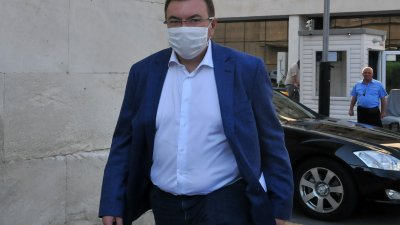 Министър Ангелов е на първото си работно посещение в Бургас. Синмки Черноморие-бг