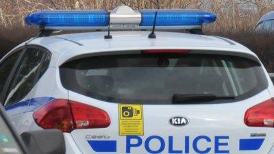 Полицаите станали свидетели на катастрофата. Снимка Архив Черноморие-бг