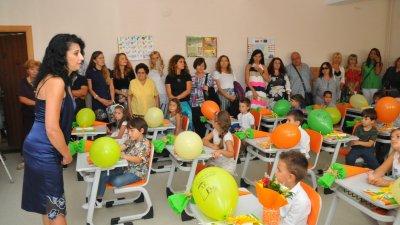 Първата подготвителна група в училището бе приета миналата година. Снимка Архив Черноморие-бг