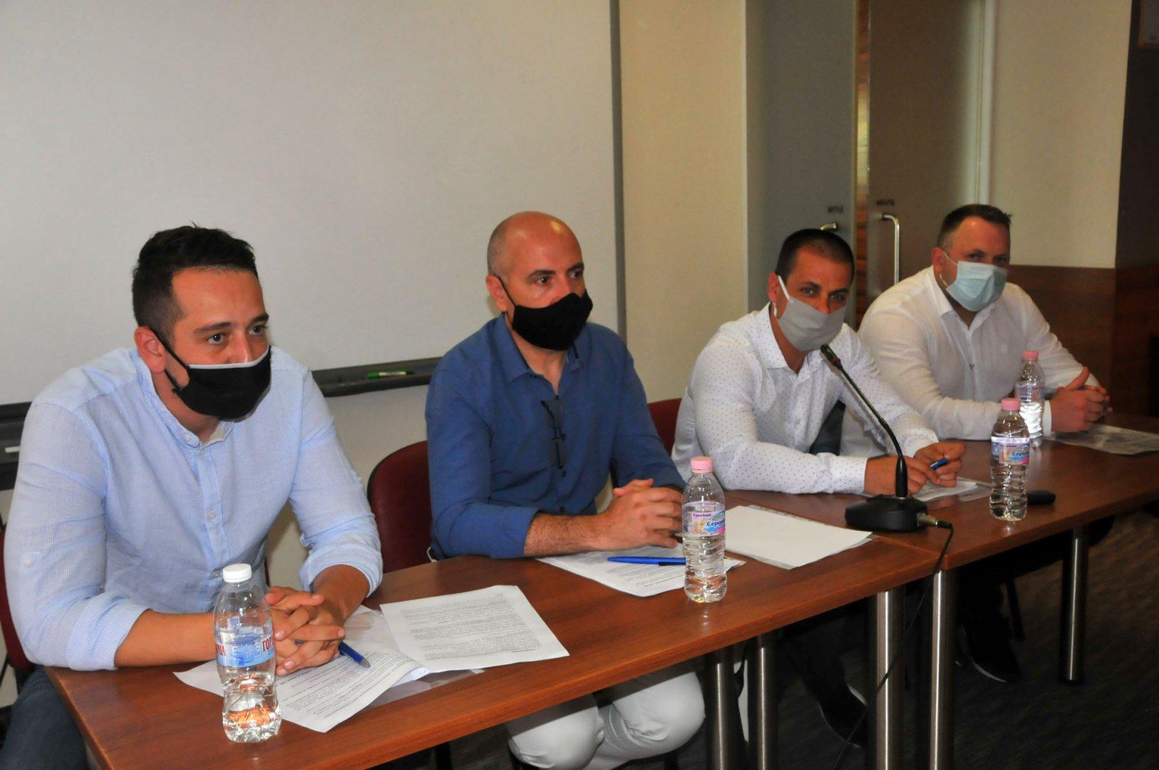 Докладната записка е входирана от четиримата съветници на ДБГ. Снимка Архив Черноморие-бг