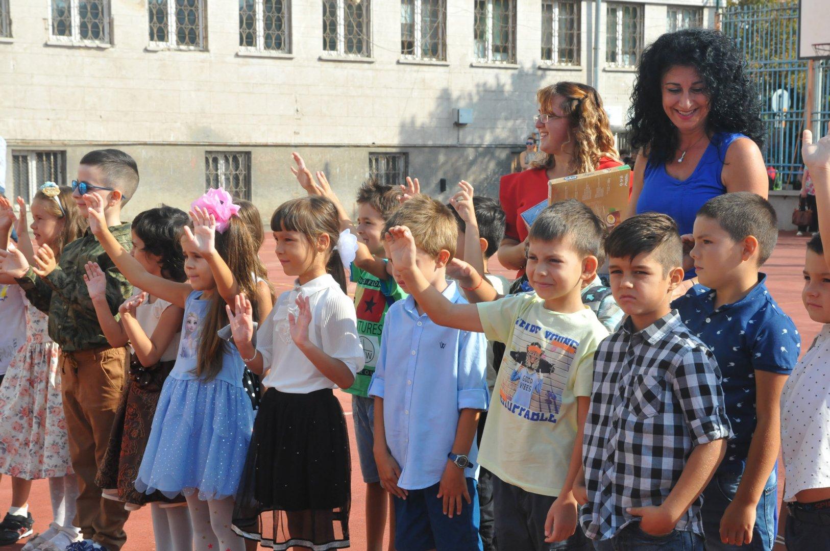 И най-малките ученици ще преминат в дистанционна форма на обучение. Снимка Архив Черноморие-бг
