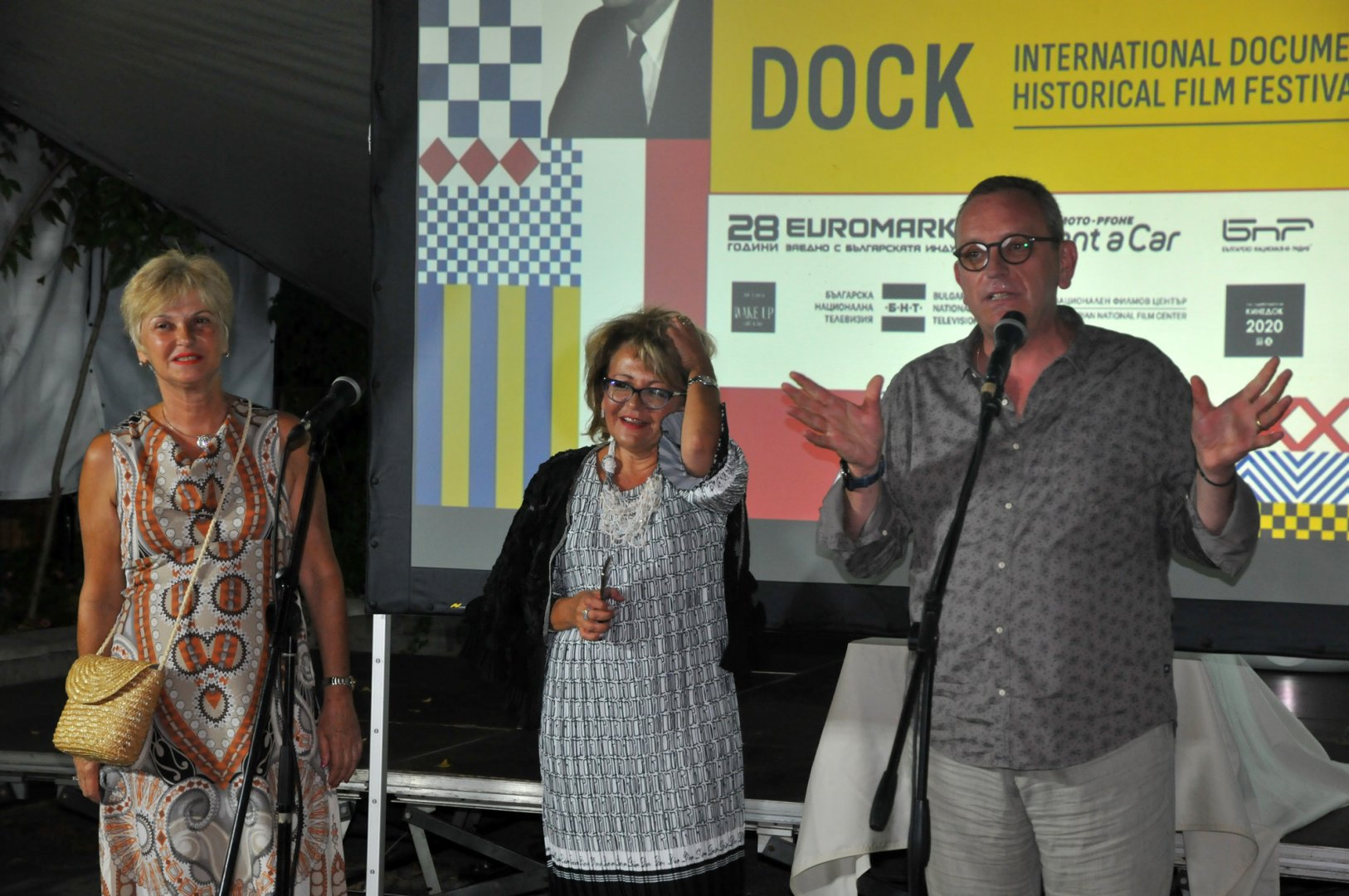 Димитър Стоянович поздрави гостите на откриването на третото издание на фестивала. Снимки Черноморие-бг