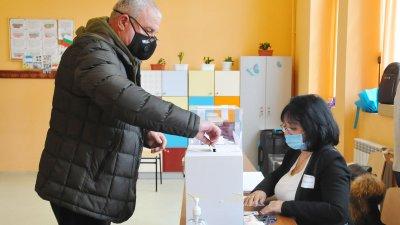 Избирателната активност в Бургас не успя да стигне 50%. Снимка Черноморие-бг