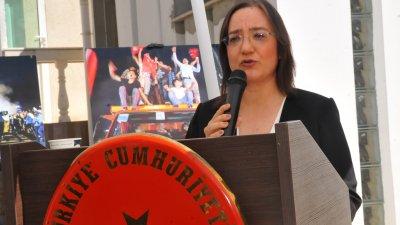Генералният консул на Република Турция в Бургас Сенем Гюзел припомни събтията от 15-ти юли 2016 г. Снимки Черноморие-бг
