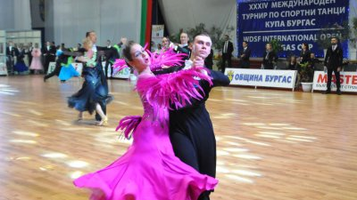 Турнирът се организира от клуб по спортни танци Бургас 1975. Снимка Архив Черноморие-бг