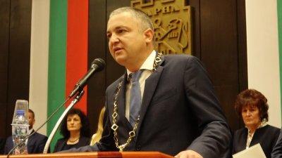 Кметът на Варна положи клетва за нов мандат. Снимки ОбС - Варна