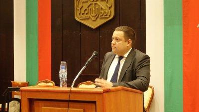 Тодор Балабанов бе избран за втори път за председател на ОбС - Варна. Снимки ОбС - Варна