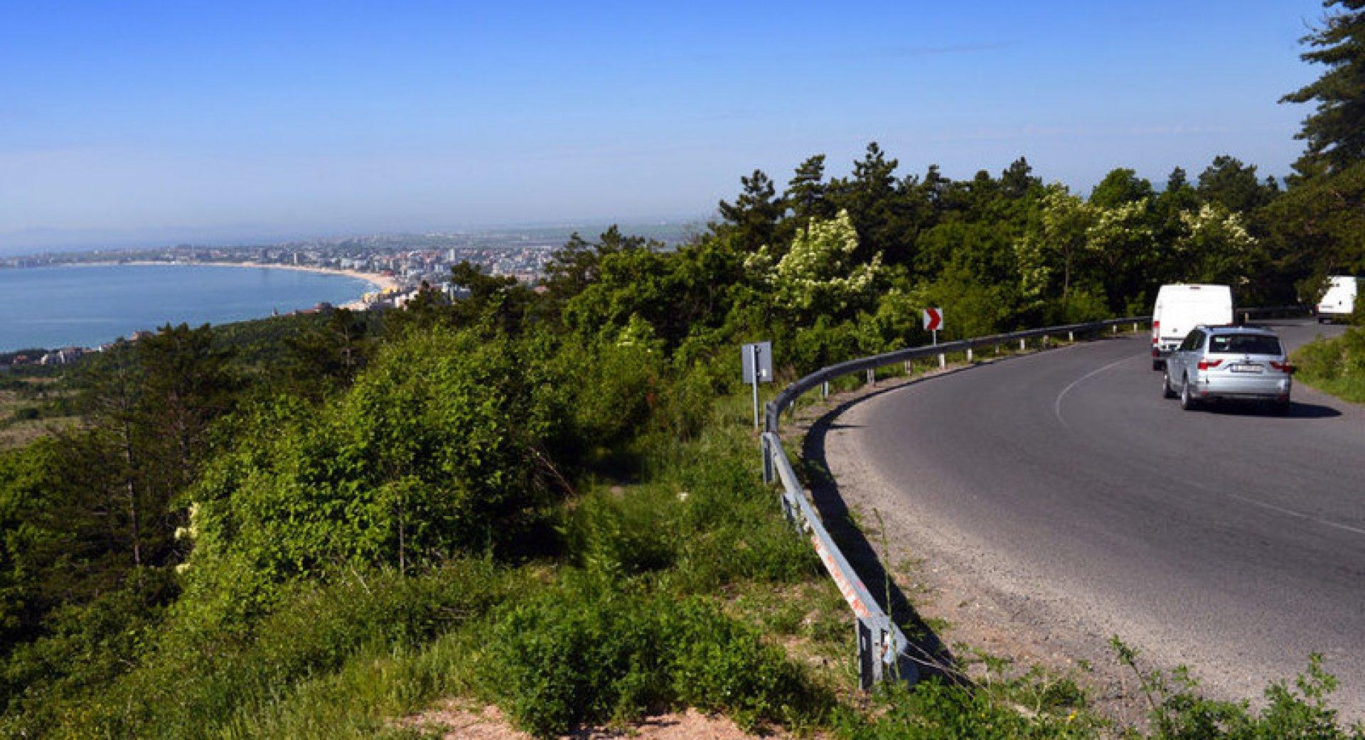 Инцидентът е станал на 185 километър на пътя Бургас - Варна. Снимката е илюстративна