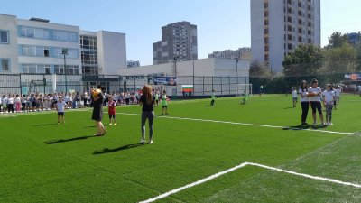 С това игрище се разширява спортната база на Звездичка. Снимки ДФК Звездичка