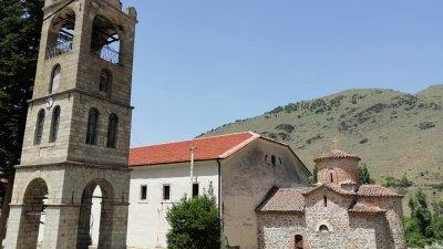 Църквата свети Герман се издига в едноименното село