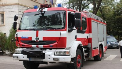 12 огнеборци са участвали в потушаването на пожара. Снимка Архив