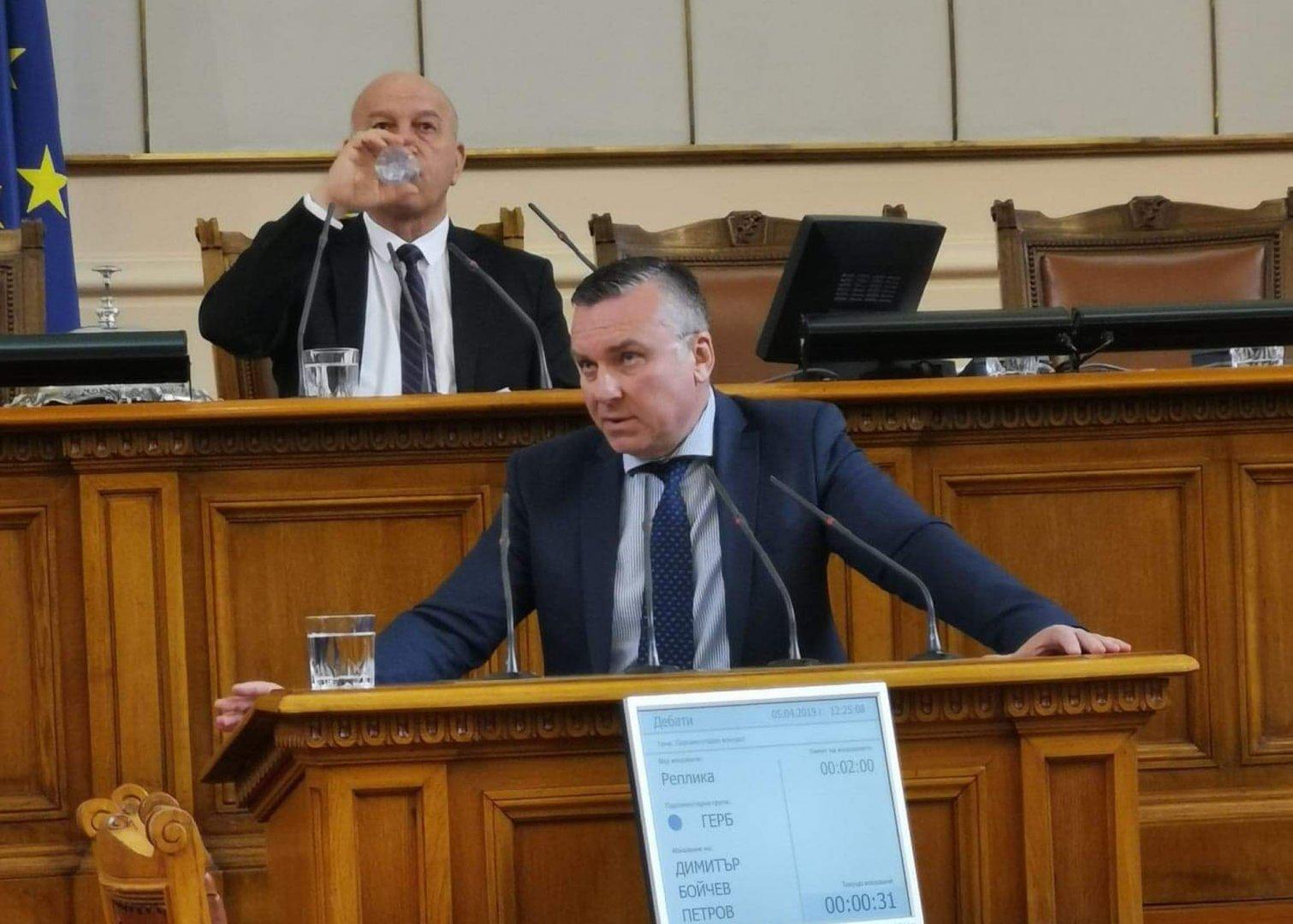 Бургаският депутат от ГЕРБ Димитър Бойчев повдигна темата за ремонта. Снимка ГЕРБ - Бургас