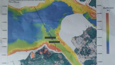 Сонарна снимка показва проблема във Варненското езеро