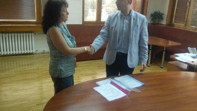 Прокурор Георги Чинев поздрави тримата си заместници
