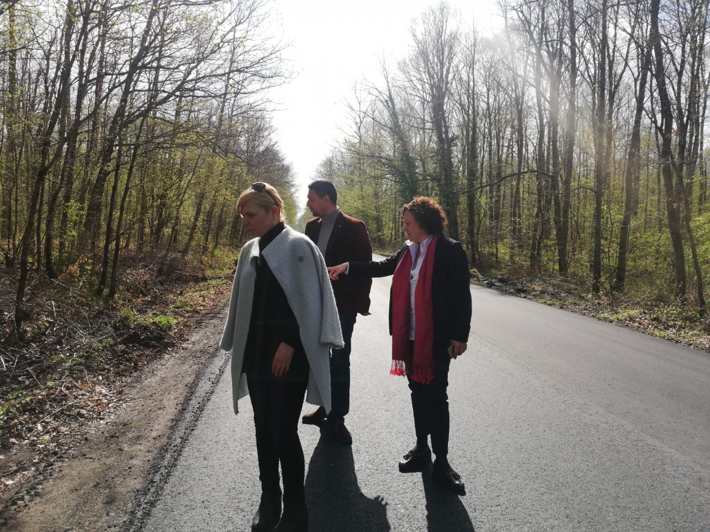 Ремонтирата отсечка ще даде възможност за по-комфортно пътуване. Снимка ГЕРБ - Бургас