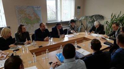 Срещата се проведе по инициатива на бургаските депутати от ГЕРБ. Снимка ГЕРБ - Бургас