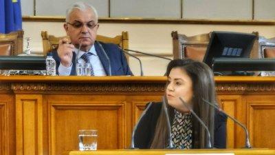 Питането бе отправено от народният представител Галя Желязкова. Снимка ГЕРБ - Бургас