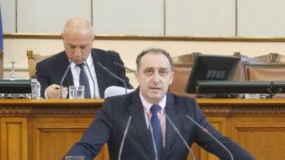 Бургаският депутат е докладчик по темата. Снимка ГЕРБ - Бургас