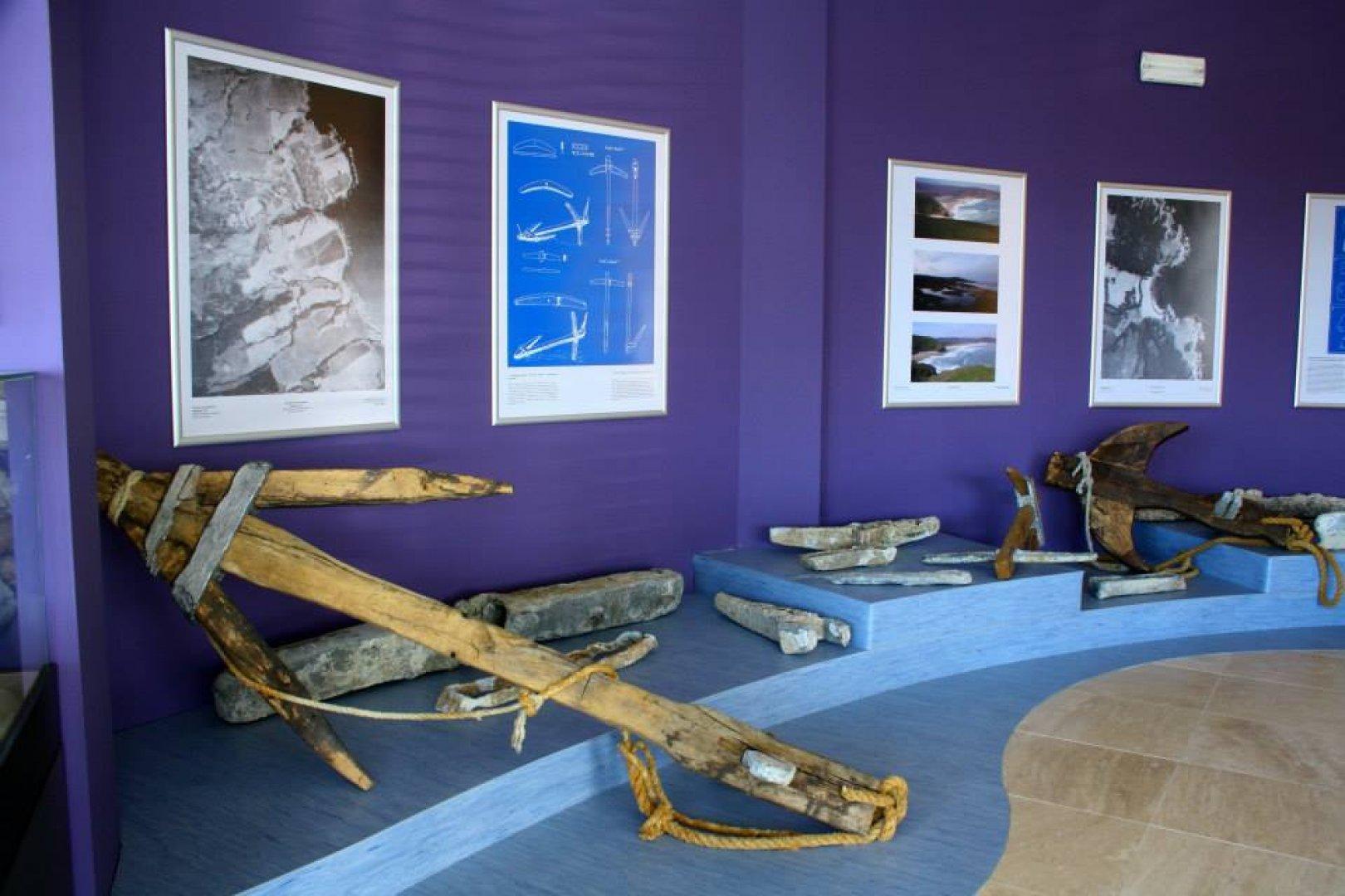 Колекция История на котвите е създадена в Ахтопол по инициатива на Черноморска Странджа