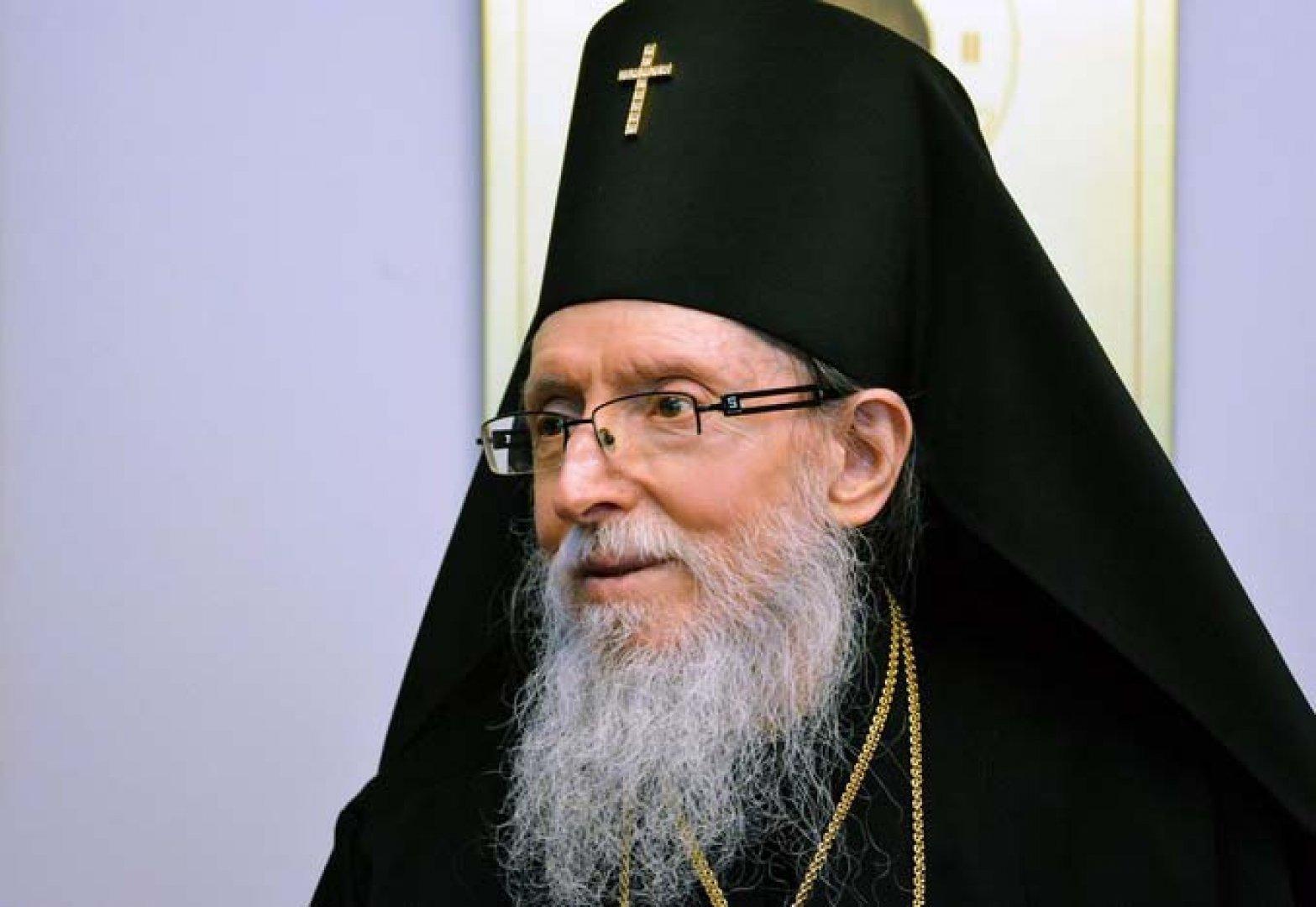 Сливенски митрополит Иоаникий. Снимка Архив Черноморие-бг