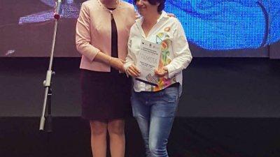 Зам.-министър Султанка Петрова връчи отличието