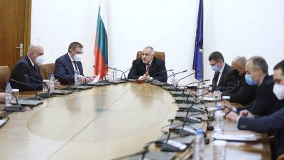 Решението е взето на заседание на министрите и членовете на Щаба. Снимка Министерски съвет