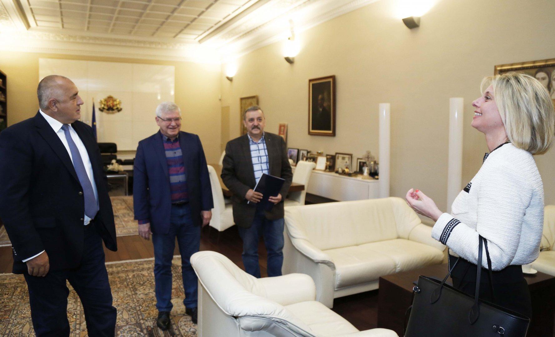 До решението се стигна след среща на премиераБойко Борисов с представители на Българското конгресно бюро. Снимка Министерски съвет