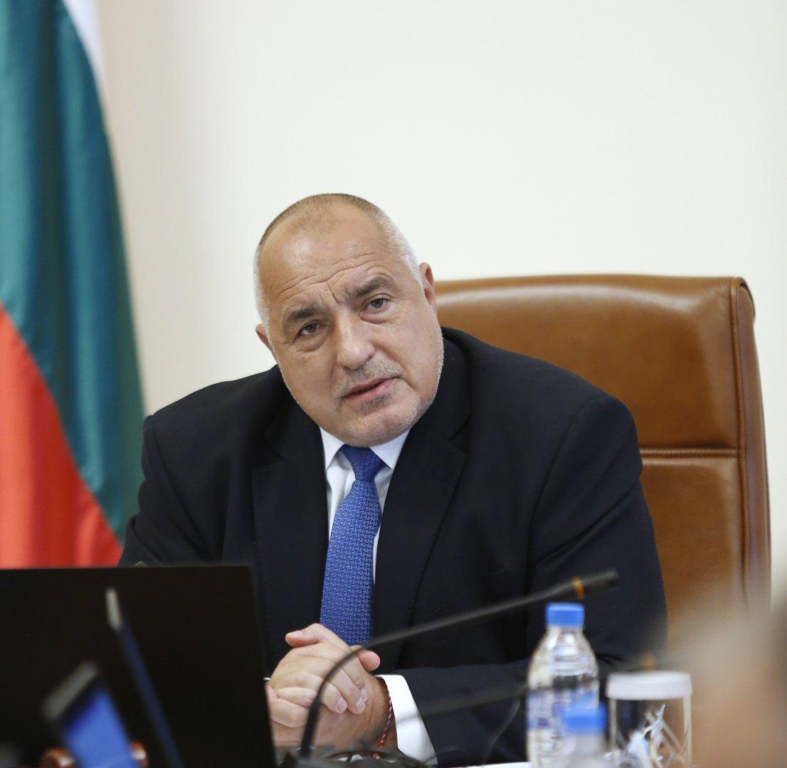 Това, което сме обещали на българите, го изпълняваме в пълния му обем, каза Бойко Борисов. Снимка Министерски съвет