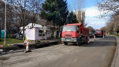 Реорганизацията на движението ще бъде въведена в понеделник. Снимки Община Бургас