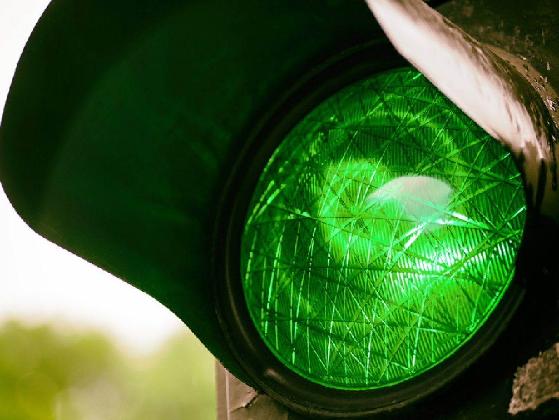 Светофарът е монтиран и се очаква да бъде пуснат в действие тази седмица