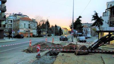 Един от булевардите, които ще бъдат ремонтирани е Булаир. Снимки Община Бургас