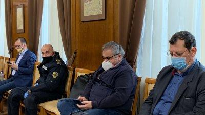 Трима души са изписани от Инфекциозното отделение на болницата в Бургас стана ясно на заседанието на Общинския щаб. Снимка Община Бургас