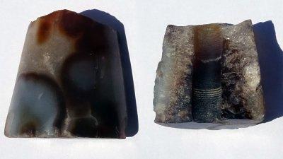 Находката е изключително ценна, посочват археолози. Снимки РИМ - Бургас