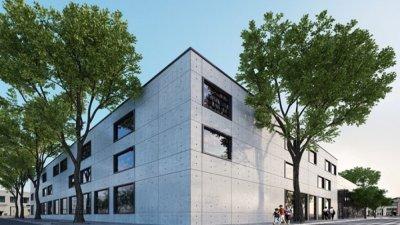 Така ще изглежда новата сграда, в която ще се премести библиотеката, след като бъде построена