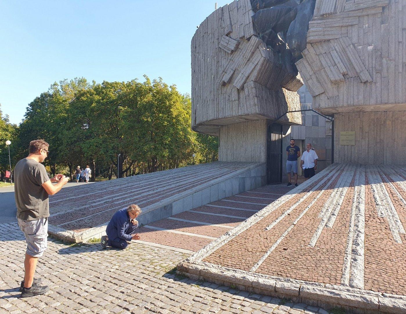 Снимките на Пантеона ще започнат до дни. Снимки Община Бургас