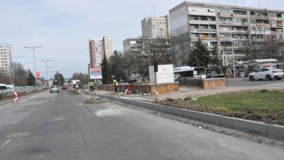 Ремонтните дейности започнаха днес и ще продължат до средата на май. Снимки Община Бургас