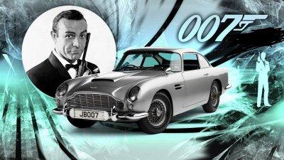 Астън Мартин е емблематичното возило на най-известният агент