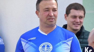 Владимир Стоянов е една от легедните на Черноморец