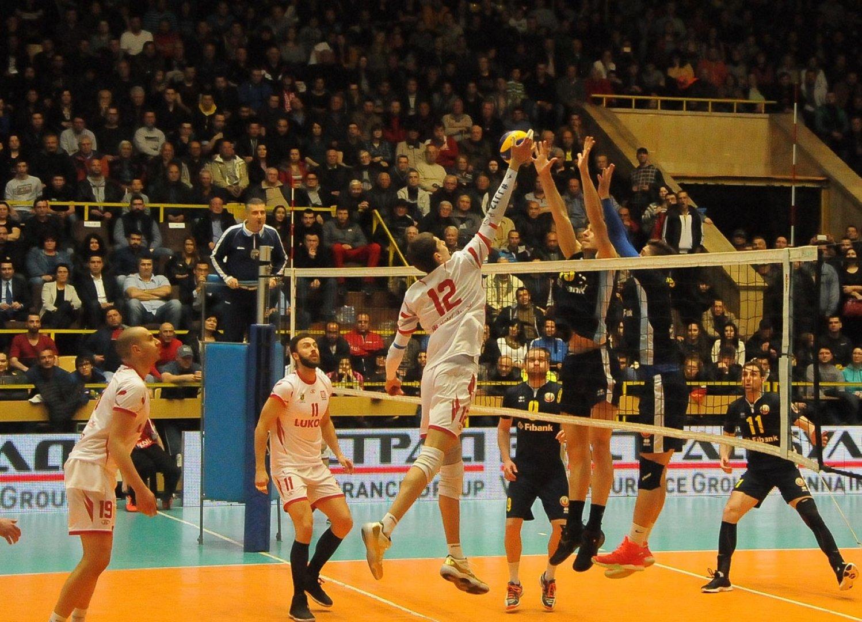 Волейболистите продължават с доброто си представяне. Снимка Община Бургас