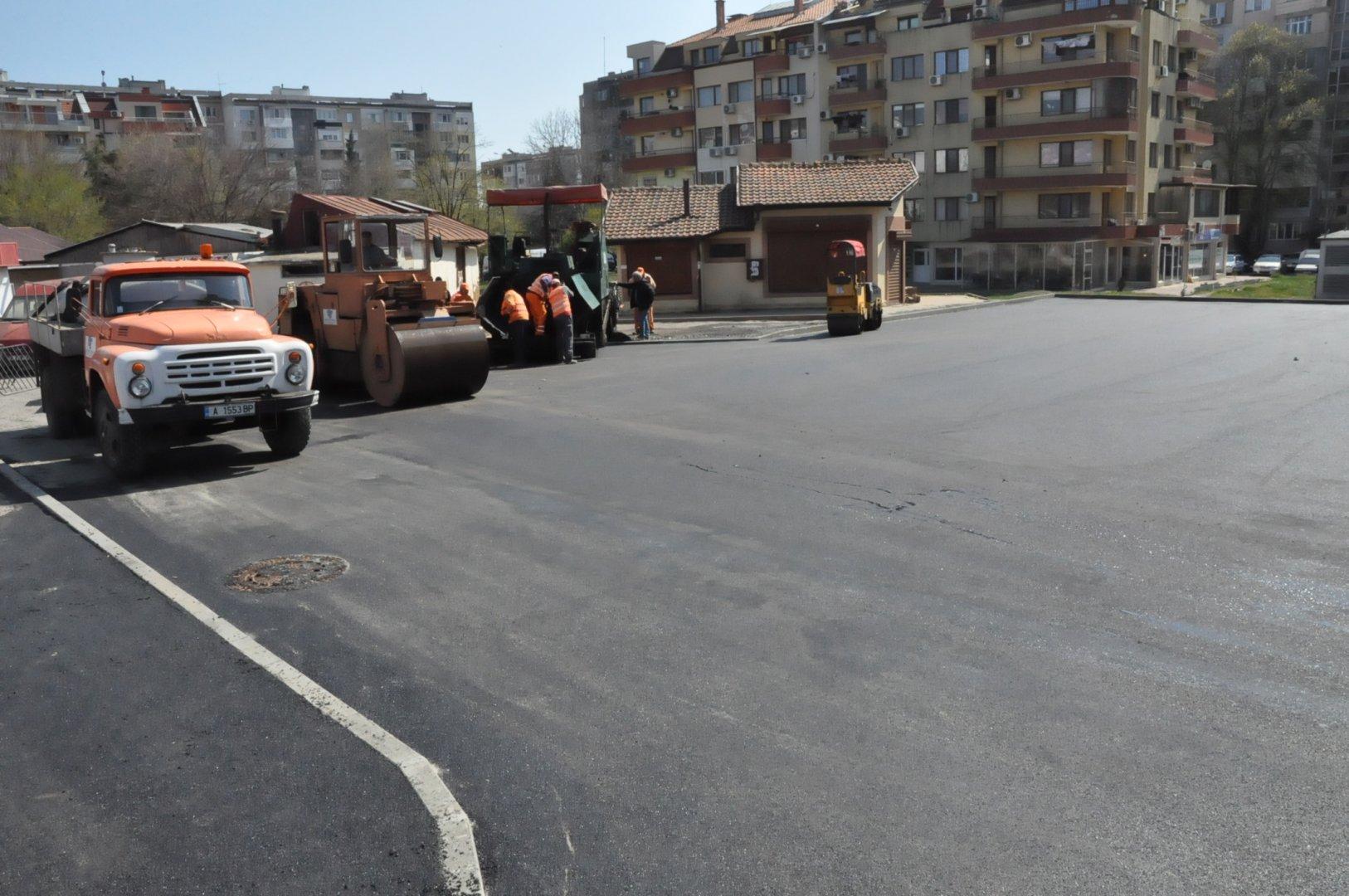 От другата седмица в Бургас ще има още два безплатни паркинга. Снимки Община Бургас