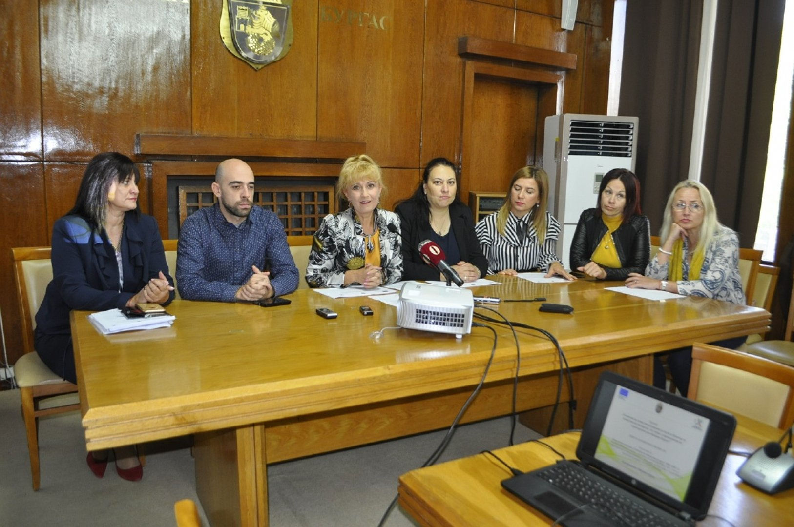 Проектът ще се изпълнява от дирекция Социални дейности, здравеопазване и спорт. Снимка Община Бургас