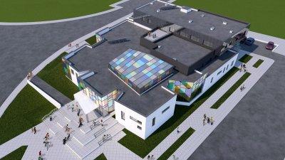 Сградата ще бъде изградена по проект. Снимка и визуализаци Община Бургас