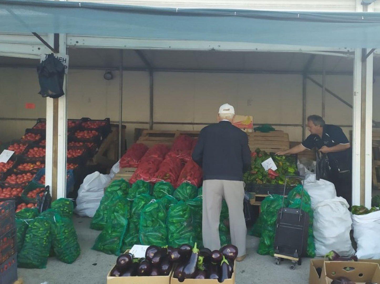 Проверките на борсите за плодове и зеленчуци в страната продължават. Снимката е илюстративна